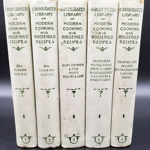 Consolidated Library of Modern Cooking